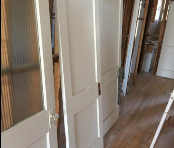 portes de bois à donner