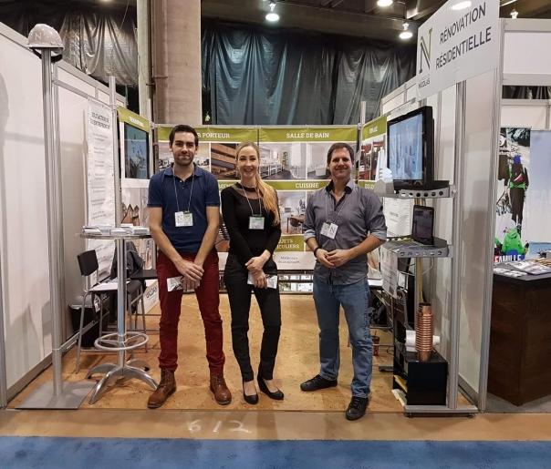 Expo habitation 2017 - équipe