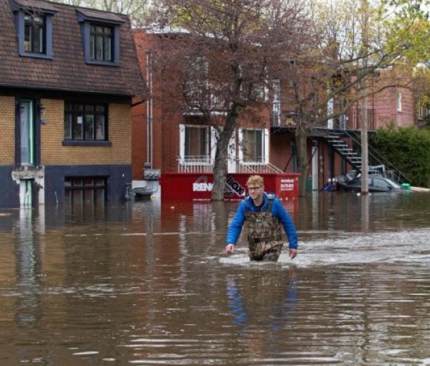Inondations - Montréal