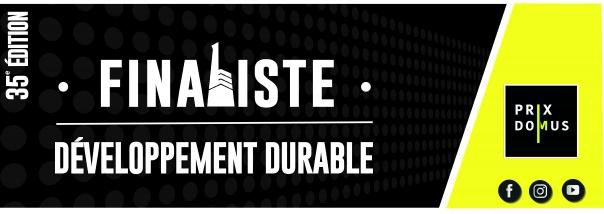 Finaliste Prix Domus 35e édition - Développement durable