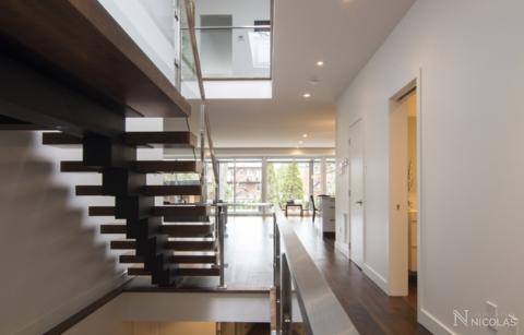 Agrandissement et ajout d'un étage – Montréal